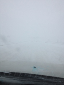 """This is what the weather man means by """"zero visibility"""""""