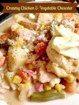 Creamy Chicken and VegetableChowder
