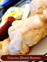 Country Drop Biscuits