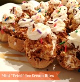 "Mini ""Fried"" Ice Cream Bites"