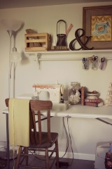 Sewing Room: Before & After